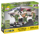 American Airborne Division WW2, 26 Piece Block Kit By Cobi
