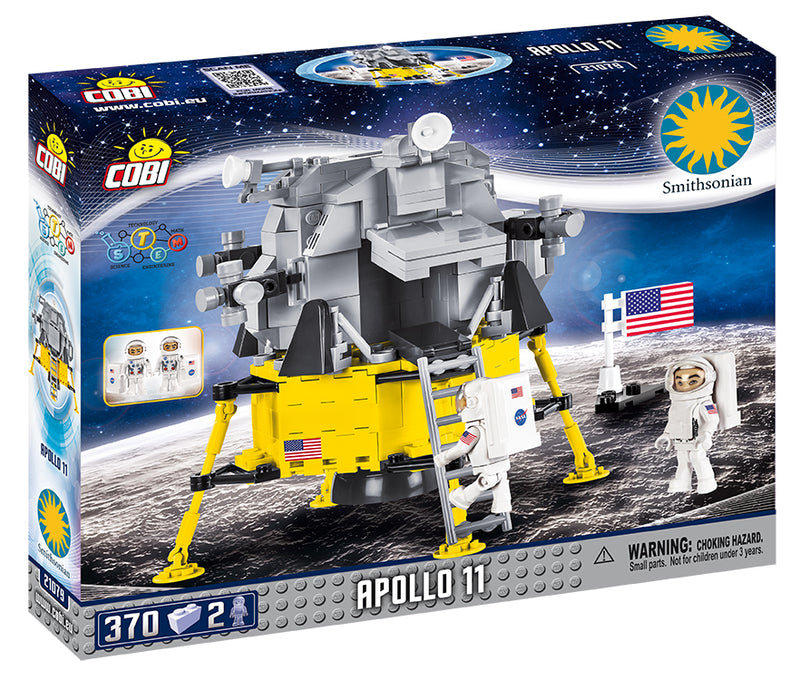 Apollo 11 Lunar Module, 370 Piece Block Kit By Cobi