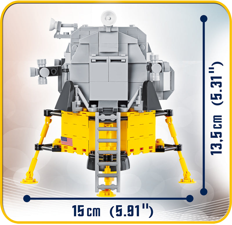 Apollo 11 Lunar Module, 370 Piece Block Kit By Cobi Dimensions
