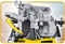 Apollo 11 Lunar Module, 370 Piece Block Kit By Cobi Return Module Detail