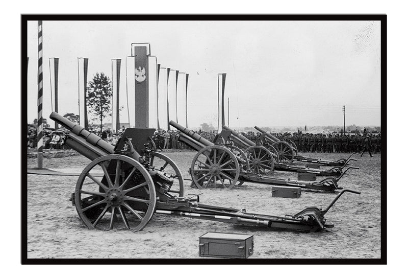 Polish 100 mm wz.1914/19P howitzers