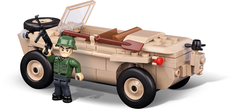 VW Type 166 Schwimmwagen, 120 Piece Block Kit By Cobi