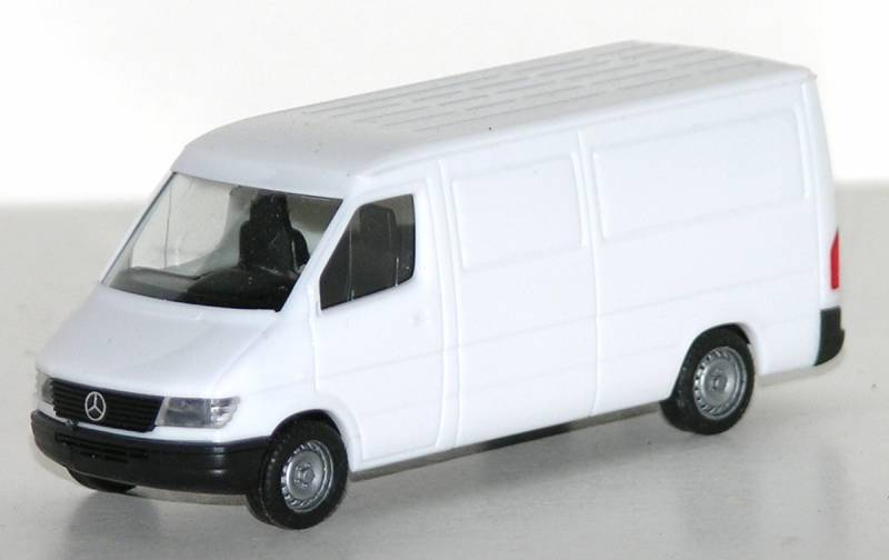 Mercedes Benz Sprinter Van (White)  1/87 Scale (HO) Model by Promotex