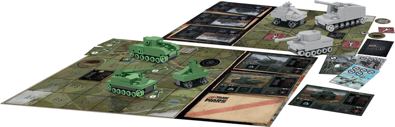 Tank Wars Board Game