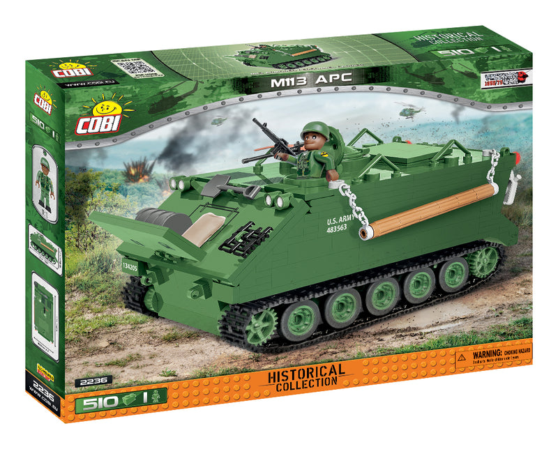 M113 Armored Personnel Carrier, 510 Piece Block Kit By Cobi