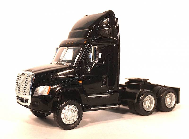 Freightliner Cascadia Day Cab Black 1:87 (HO) Scale Model Promotex