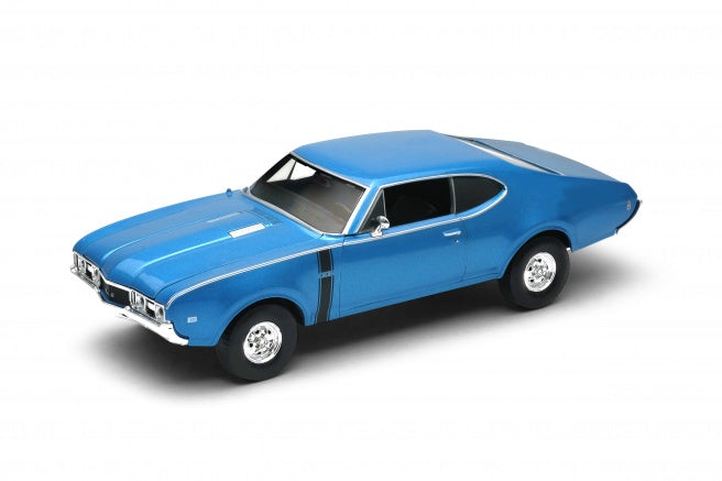 Welly 1968 Oldsmobile 442 1/24 Scale Diescast Car