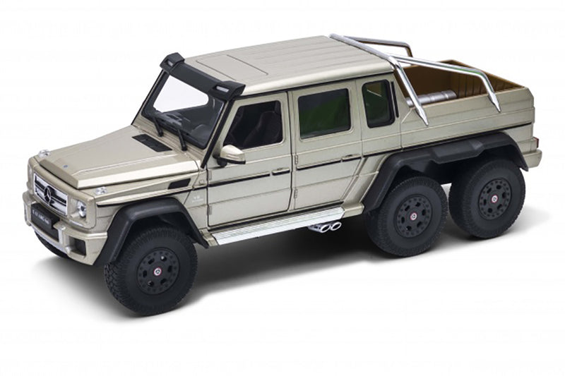 Mercedes G63 6 X 6 Sport Utility Truck Diecast 1:24 Scale By Welly