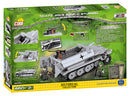 Sd.Kfz 251/9 Ausf. C Stummel Halftrack, 460 Piece Block Kit By Cobi Back Of Box