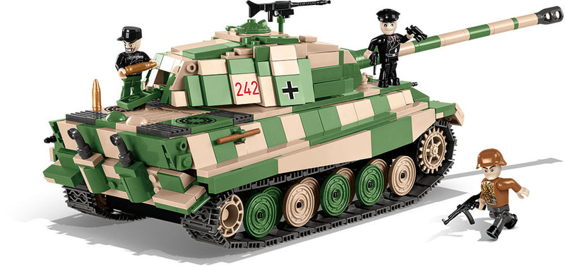 "Tiger II (PzKpfw VI B ""Konigstiger"") Porsche Turret,  630 Piece Block Kit By Cobi"