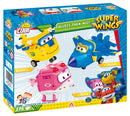 Super Wings Jett, 175 Piece Block Kit By Cobi Back Of Box