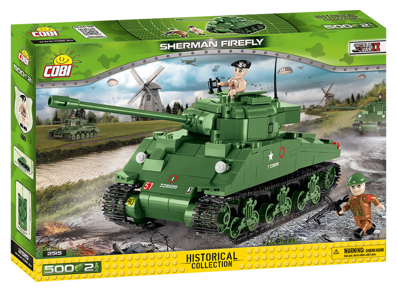 Sherman Firefly Tank, 500 Piece Block Kit By Cobi