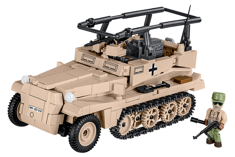 Sd.Kfz. 250/3 Command Halftrack, 426 Piece Block Kit
