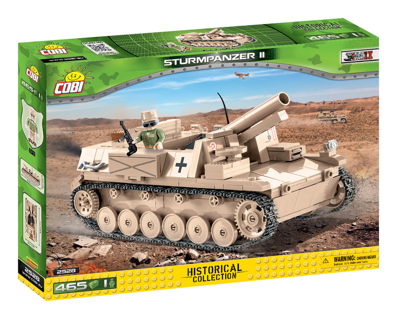 Sturmpanzer II, 465 Piece Block Kit By Cobi