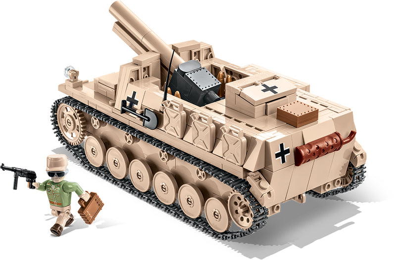 Sturmpanzer II, 465 Piece Block Kit