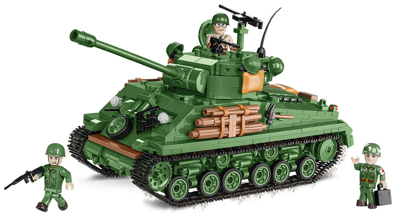 "M4A3E8 ""Easy Eight""  Sherman Tank  725 Piece Block Kit"