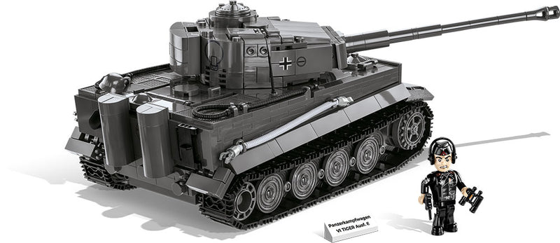 Tiger I Panzer VI Ausf. E Tank, 800 Piece Block Kit