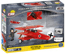 Fokker Dr.1 Red Baron, 175 Piece Block Kit By Cobi Back Of Box