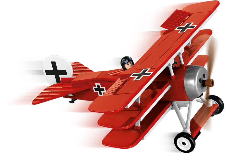 Fokker Dr.1 Red Baron, 175 Piece Block Kit