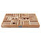 Natural Colored Blocks In Tray - 54 pcs