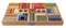 Wooden Story Rainbow Blocks 54 pieces