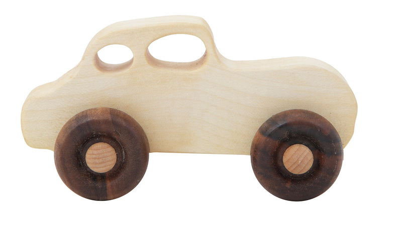 Retro Car Natural Colored Wood Toy Car By Wooden Story