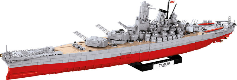 World Of Warships Yamato Battleship, 2500 Piece Block Kit