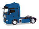 MAN TGX XXL Euro 6C Tractor (Blue), 1:87 (HO) Scale Model