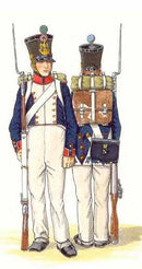 Napoleonic Wars French Fusiliers 1812