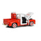 "Ford F-100 Pickup 1955 ""Coca-Cola"" 1:24 Scale Diecast Model Right Rear View"