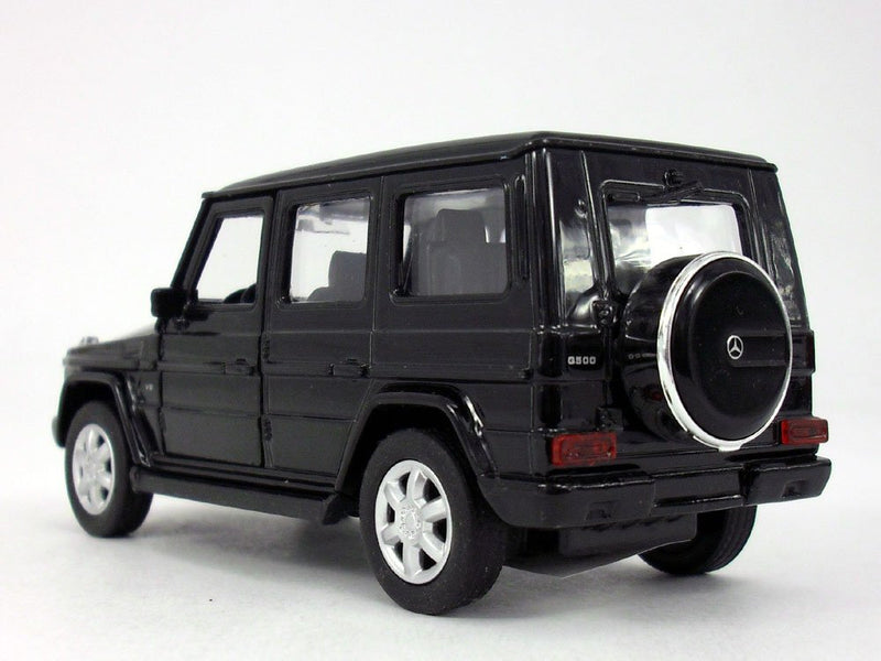 Mercedes Benz G Class Wagon (Black) 1:38 Scale Diecast Car By Welly (No Retail Box)
