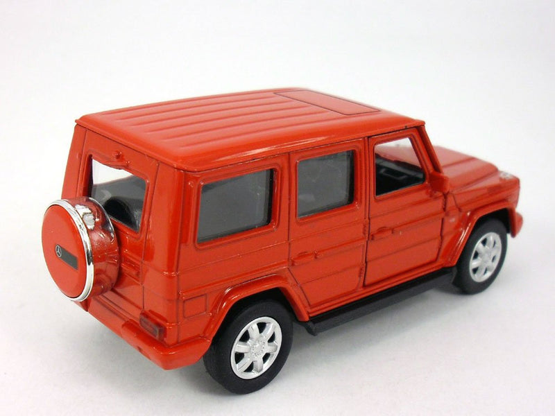 Welly Mercedes Benz G500 (Red) 1/32 Scale Diecast Model Rear View