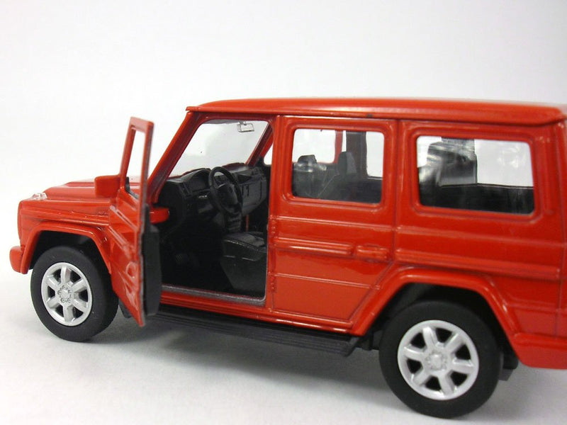 Mercedes Benz G500 (Red) 1/32 Scale Diecast Model By Welly