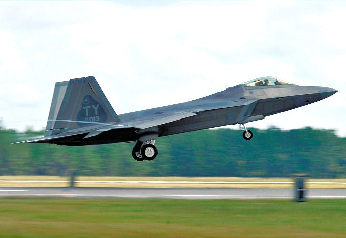 F-22A Raptor 43rd Fighter Squadron