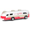 "Flxible Starliner Bus 1960 ""Coca-Cola"" 1/64 Scale Model"