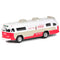 "Flxible Starliner Bus 1960 ""Coca-Cola"" 1/64 Scale Model By Motor City Classics"