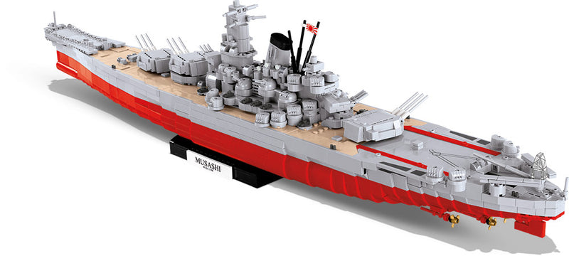 Musashi Battleship 1:300 Scale, 2430 Piece Block Kit