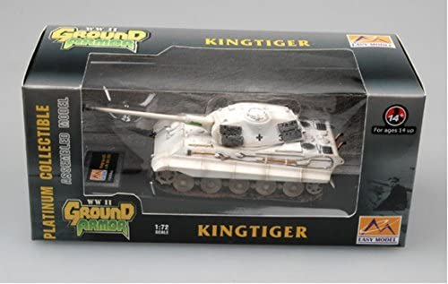 "Tiger II, Panzerkampfwagen VI Ausf. B ""King Tiger"" 1/72 Scale Model Box"