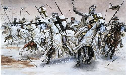 Teutonic Knights 12th – 13th Century, 1/72 Scale Plastic Figures Box Art