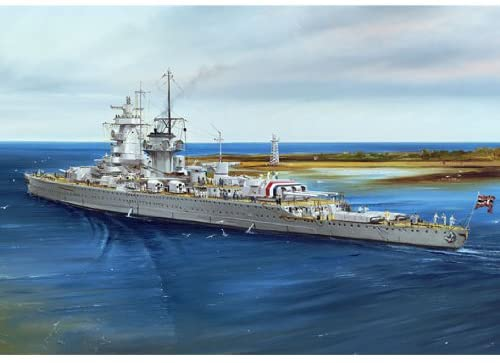 Admiral Graf Spee Pocket Battleship 1937, 1:700 Scale Model Kit