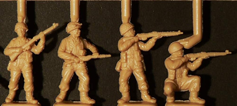 "British Paratroopers ""Red Devils"", 1/72 Scale Plastic Figures Kit Detail"