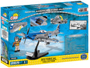 North American P-51D Mustang 1944, 265 Piece Block Kit By Cobi Back Of Box
