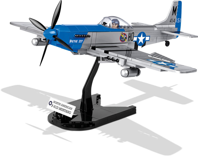 North American P-51D Mustang 1944, 265 Piece Block Kit