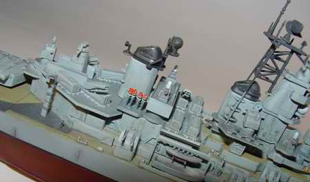 USS Wisconsin Battleship BB-64 1991, 1:700 Scale Model Kit