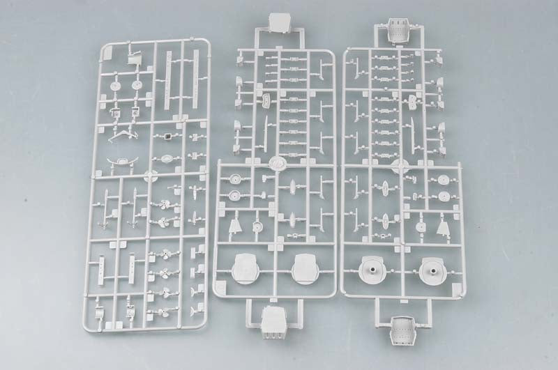 USS Massachusetts Battleship BB-59, 1:700 Scale Model Kit Sprue
