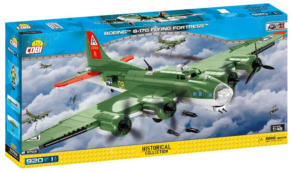 Boeing B-17G Flying Fortress 920 Piece Block Kit By Cobi