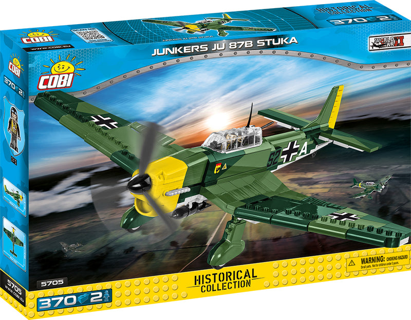 Junkers Ju 87 B-3 Stuka, 370 Piece Block Kit By Cobi