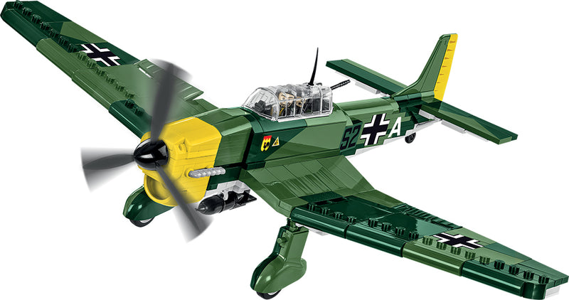 Junkers Ju 87 B-3 Stuka, 370 Piece Block Kit