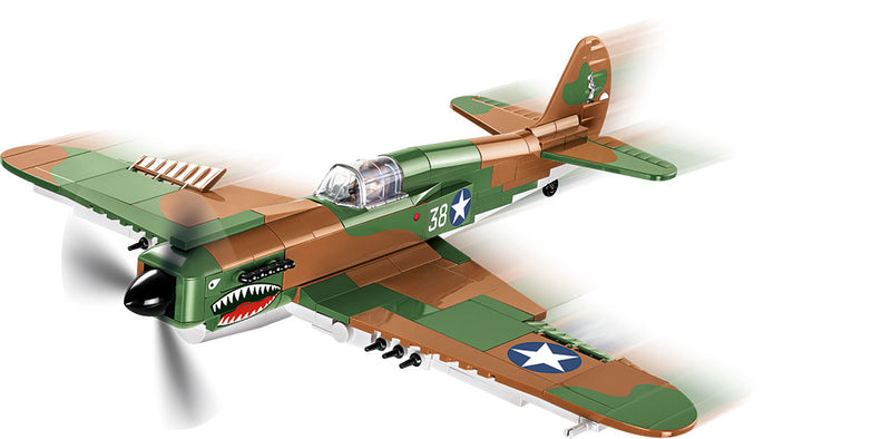Curtiss P-40E Warhawk, 272 Piece Block Kit By Cobi