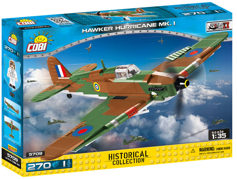 Hawker Hurricane Mk I, 270 Piece Block Kit By Cobi